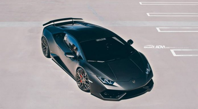 Stunning Black Lamborghini Huracan with Liquid Smoke ADV.1 Wheels!