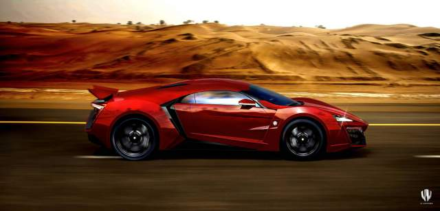 Meet Fast and Furious 7 Lykan Hypersport - The Hero Car!