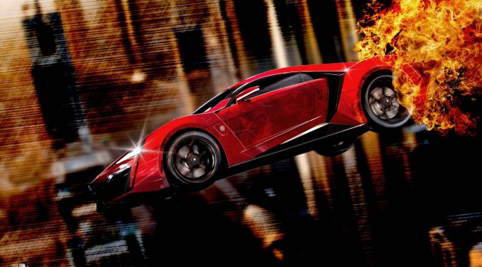 Fast and Furious 7 Lykan Hypersport