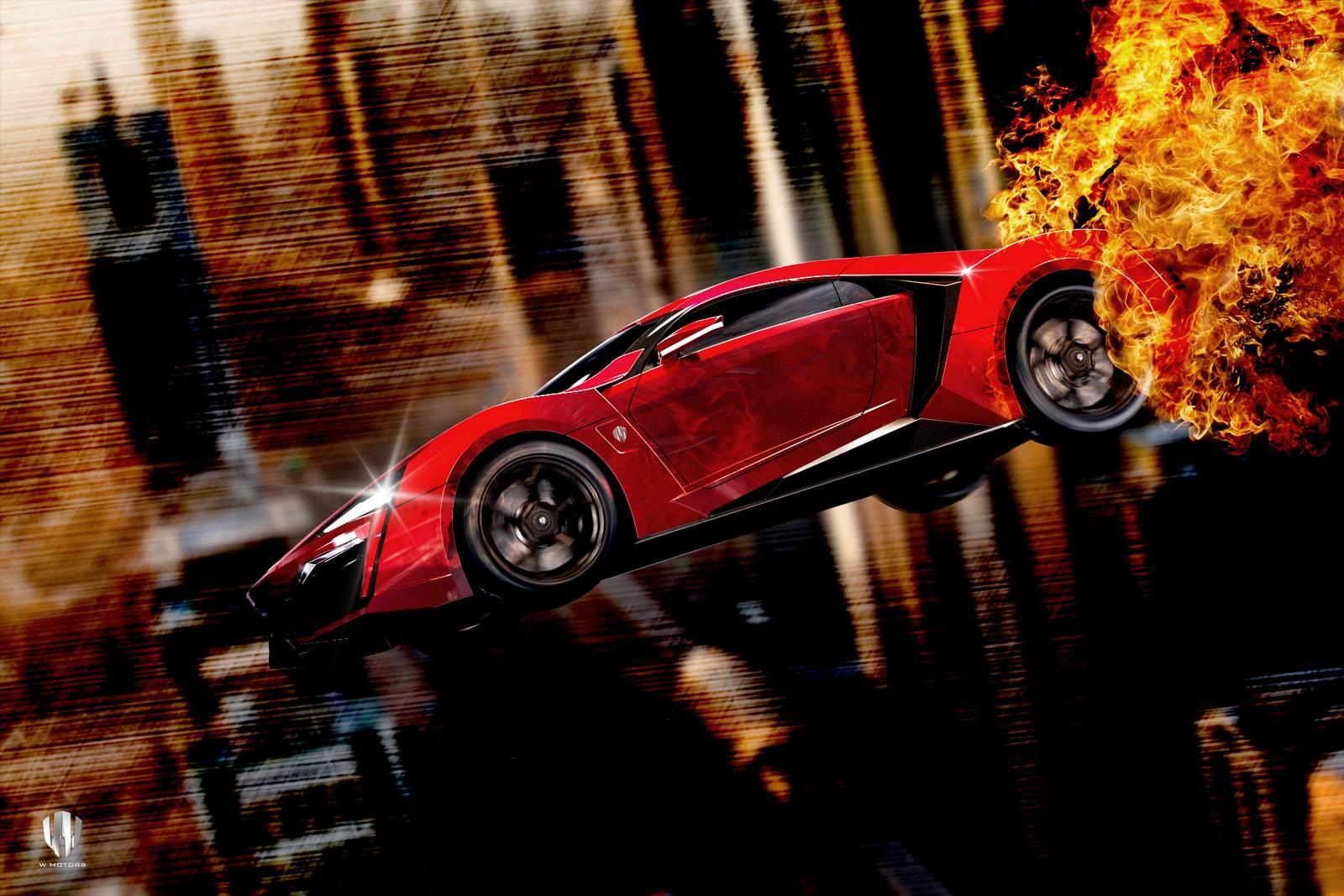 meet fast and furious 7 lykan hypersport the hero car gtspirit. Black Bedroom Furniture Sets. Home Design Ideas