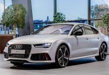 Matte Silver Audi RS7 Sportback by Audi Exclusive