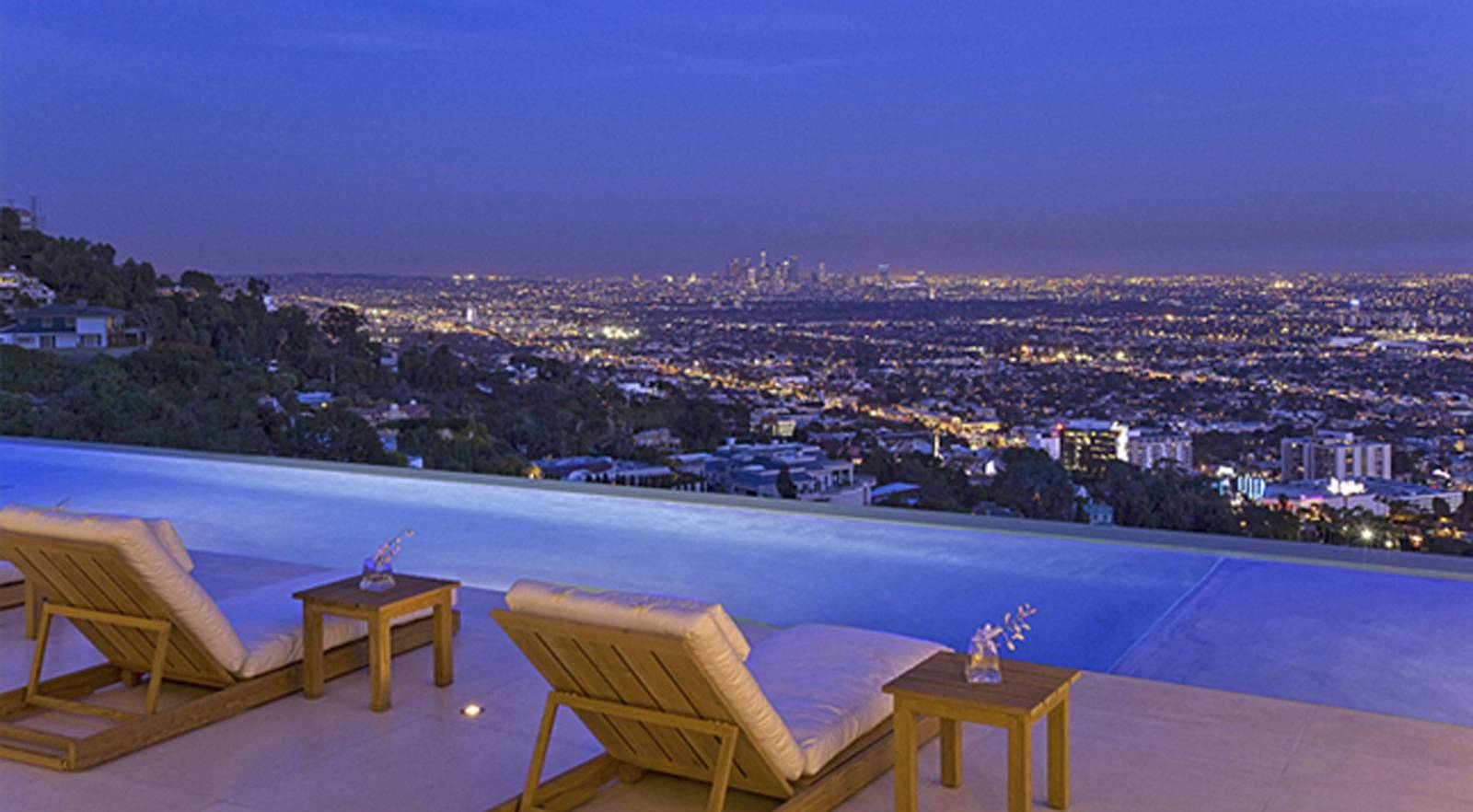 1970 sunset strip home gets a spectacular modern remake for Buy house hollywood hills