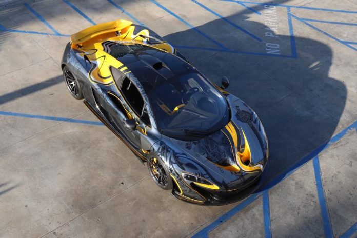 Custom Wrapped McLaren P1 by StickerCity