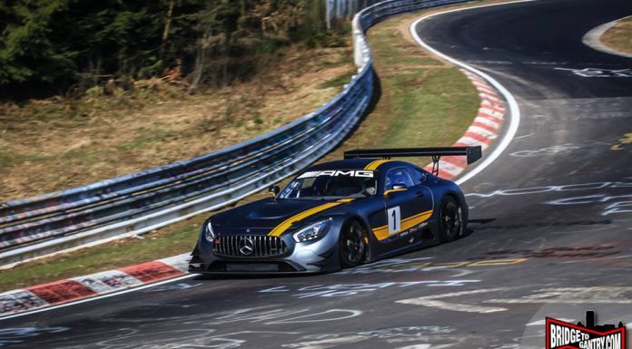 Mercedes-AMG GT3 Hits the Nurburgring