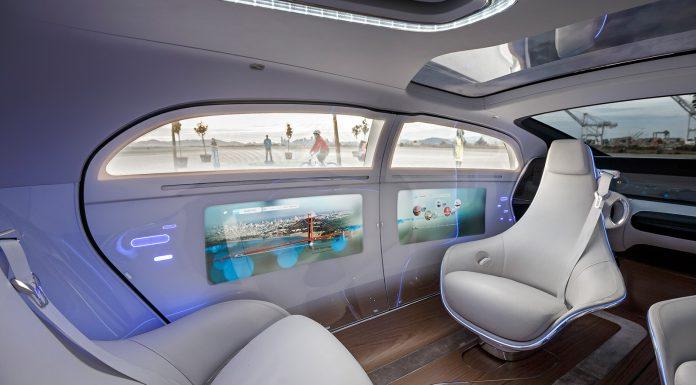 Mercedes-Benz F015 Luxury in Motion Concept Interior