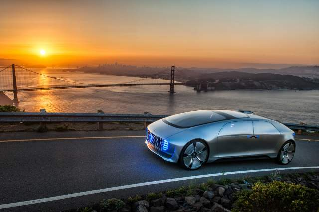 Mercedes-Benz F015 San Francisco
