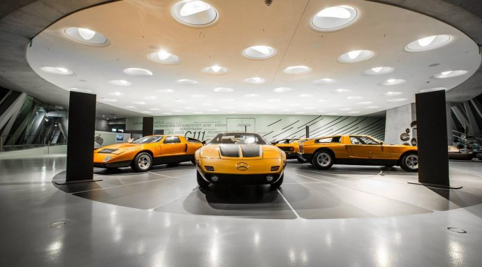 Special C111 Exhibition Launched at Mercedes-Benz Museum
