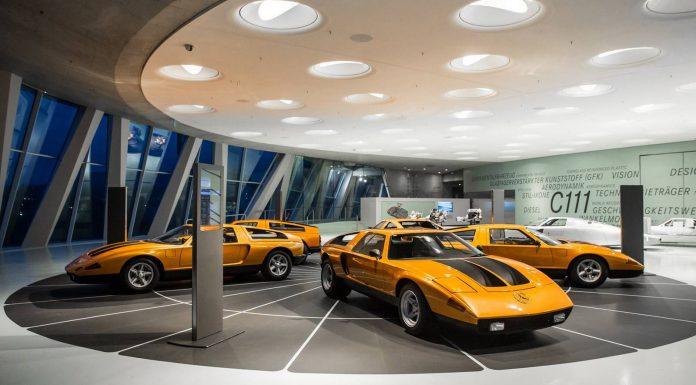 Mercedes-Benz C111 at Mercedes-Benz Museum