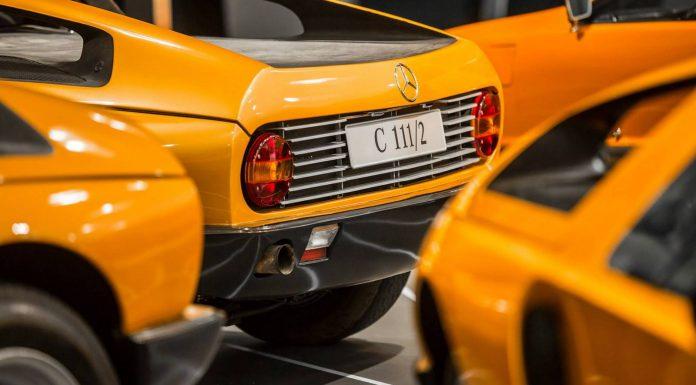 Mercedes-Benz C111 tails