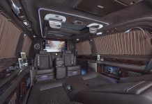 Mercedes-Benz Viano Fitted with Ultra-Luxury VVIP Interior