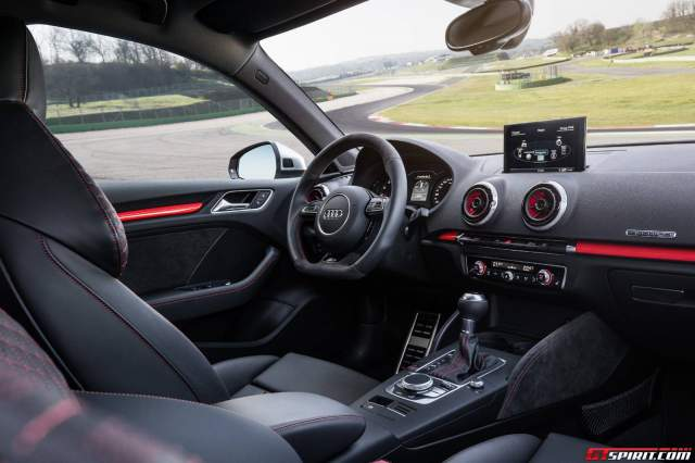 New Audi RS3 Sportback Interior