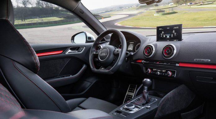 New Audi RS3 Sportback Interior