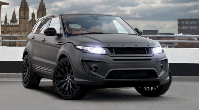 Volcanic Rock Satin Range Rover Evoque by Kahn Design