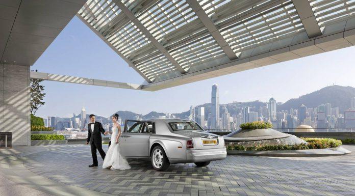 Ritz-Carlton Hong Kong Entrance