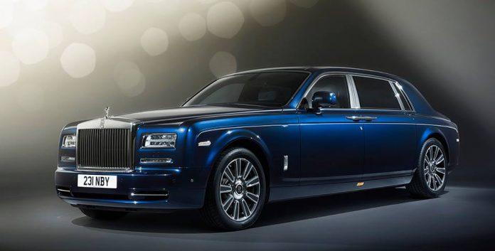 Next-gen Rolls-Royce Phantom debuting in 2016