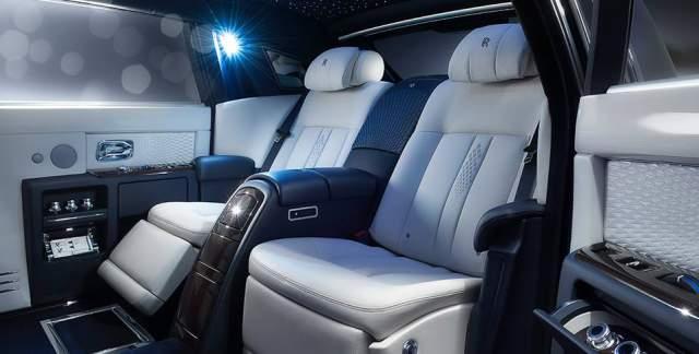 Rolls-Royce Phantom Limelight Collection Interior