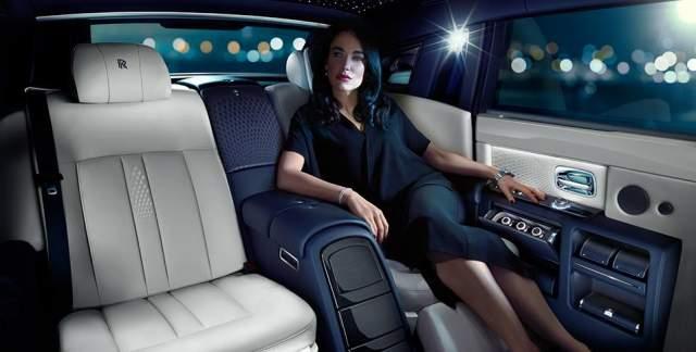 Rolls-Royce Phantom Limelight Collection Interior comfort