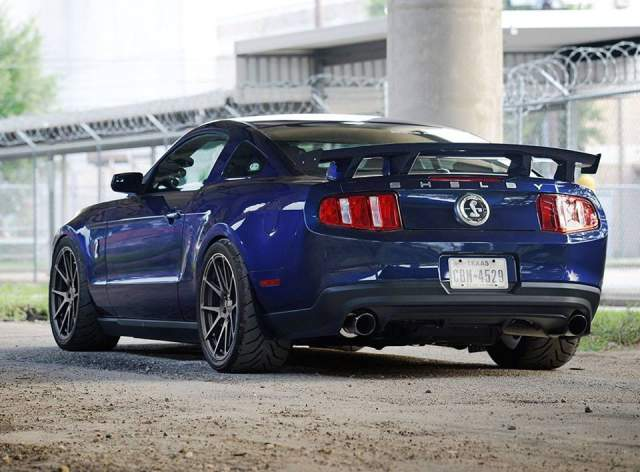 1258hp Shelby Mustang GT500 with Forgeline Wheels