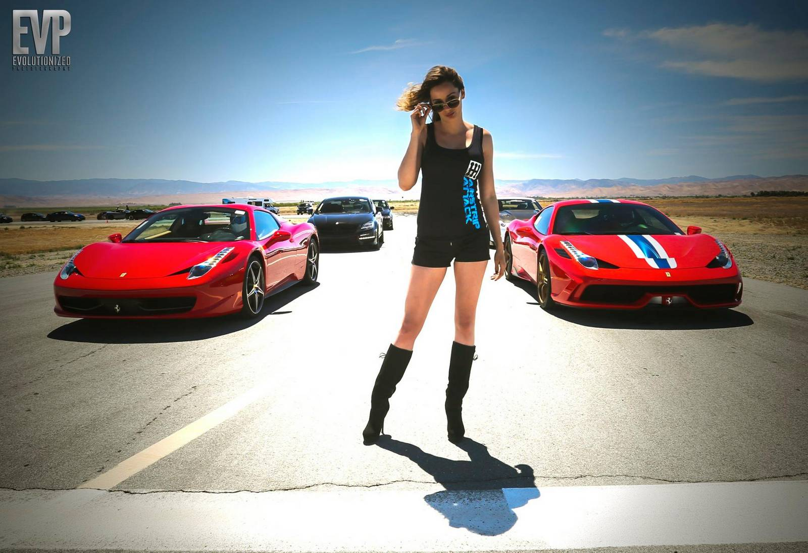 shift-s3ctor airstrip attack 8 gathers world u0026 39 s fastest supercars