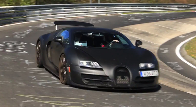 video bugatti chiron mule hits the nurburgring gtspirit. Black Bedroom Furniture Sets. Home Design Ideas