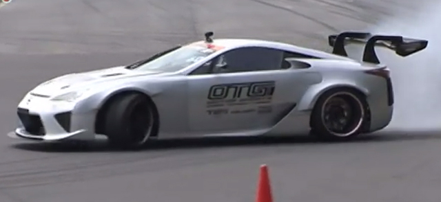 A New Video Of One Of The Worldu0027s Craziest And Most Expensive Drift Cars  Has Been Posted With It Once Again Showing Japanu0027s Own NASCAR Powered Lexus  LFA ...