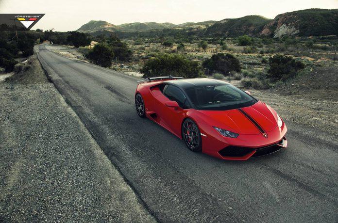 Vorsteiner Presents Rosso Mars Lamborghini Huracan Verona Edizione