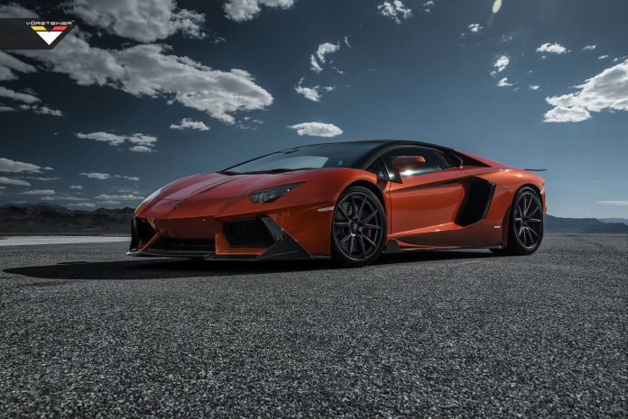 Lamborghini Aventador by Vorsteiner