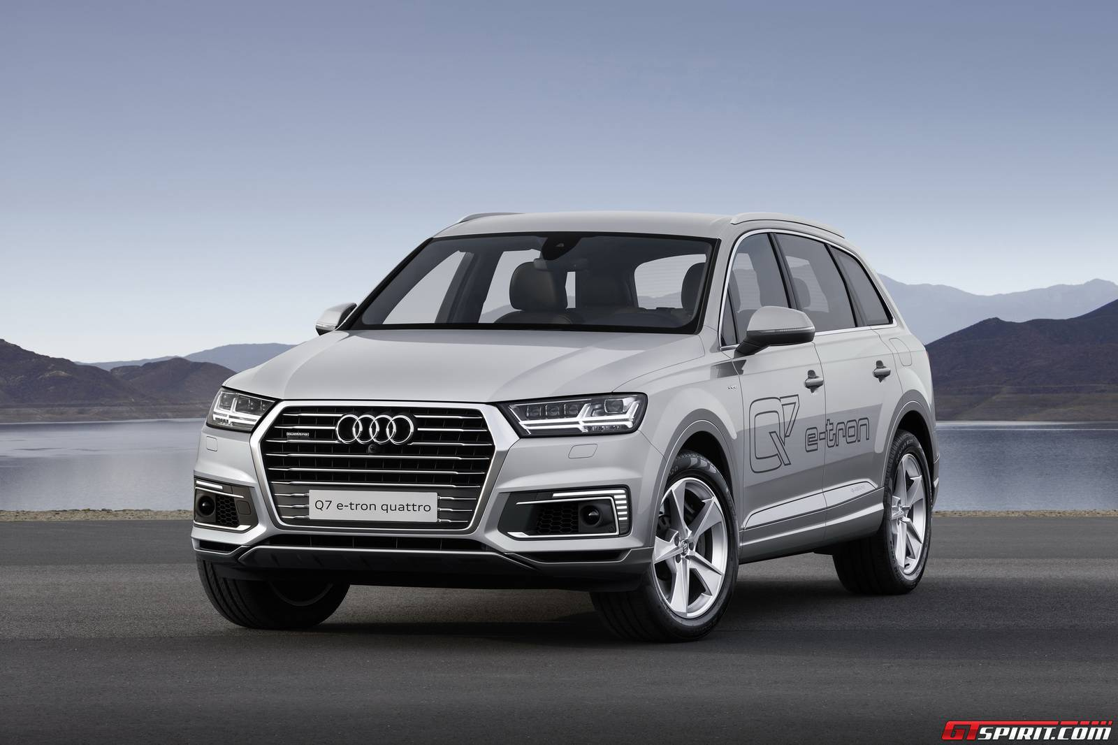 After the unveiling of the Audi Q7 e-tron diesel at the Geneva Motor ...