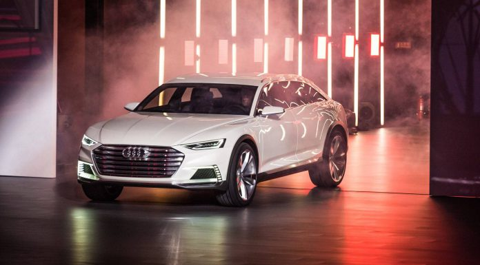 Audi Prologue All Road Concept at Volkswagen Group Night Shanghai