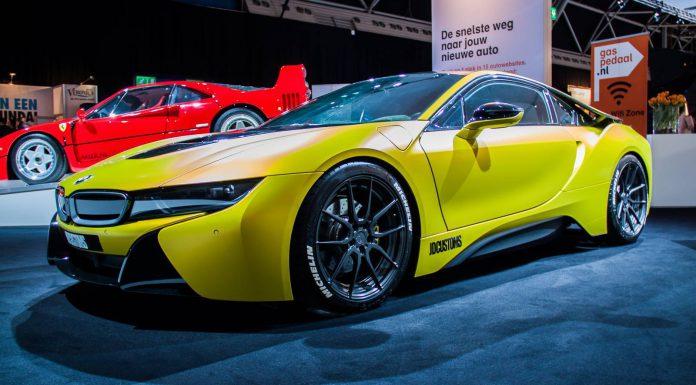 BMW i8 at the AutoRAI 2015