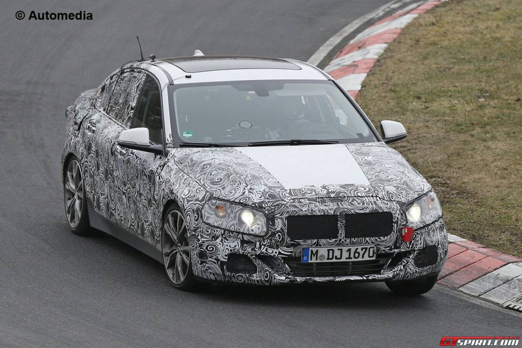 Upcoming BMW 1-Series Sedan Spy Shots
