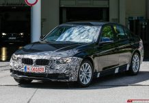 New BMW 3-Series Facelift Spy Shots with Less Camo