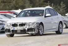 BMW 3-Series M-Sport Package Facelift Spy Shots