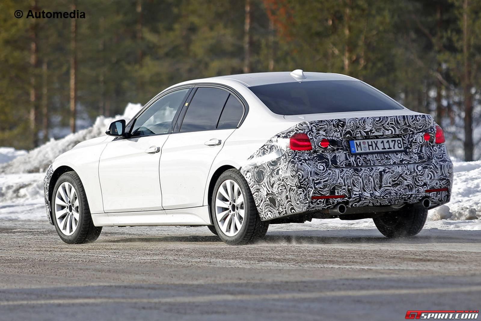 Bmw 3 Series M Sport Package Facelift Spy Shots Gtspirit