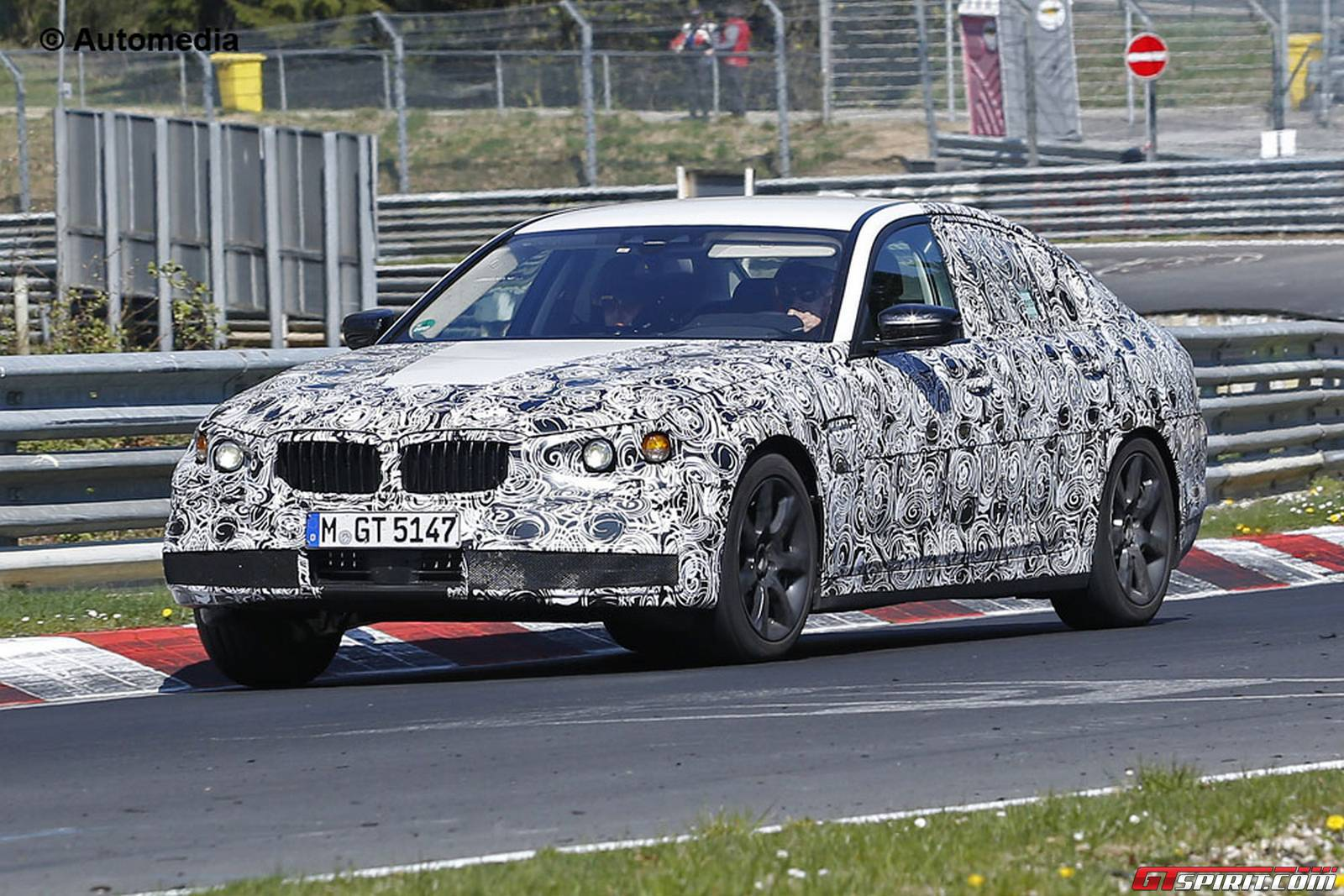 next gen bmw 5 series spy shots emerge again at the nurburgring gtspirit. Black Bedroom Furniture Sets. Home Design Ideas
