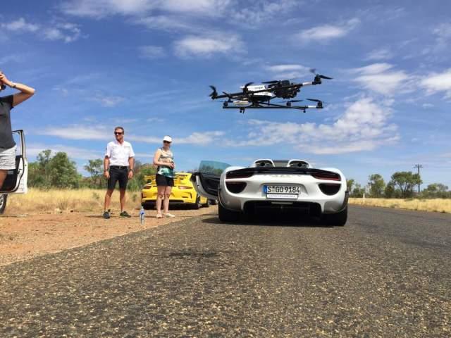 Porsche 918 Spyder shoot Australia