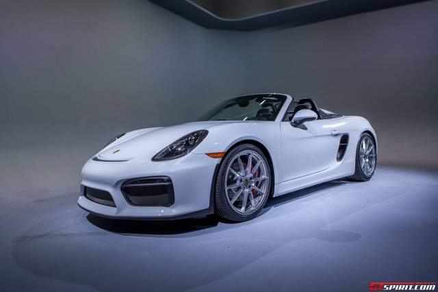 GTspirit Porche Boxster Spyder at New York 2015