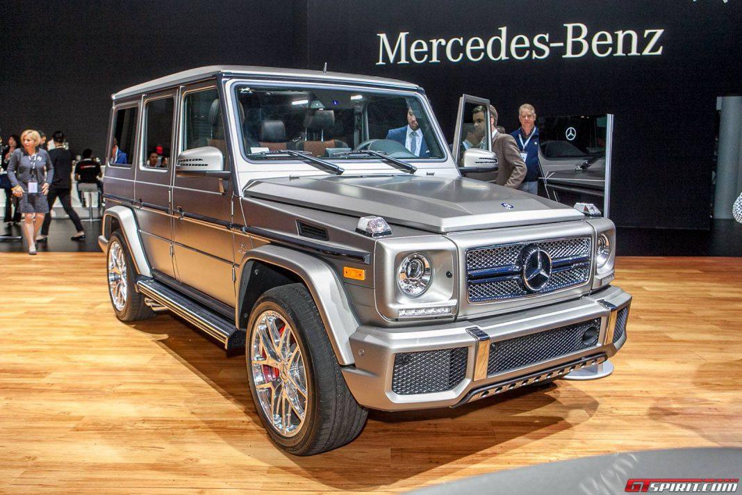 New york 2015 mercedes benz g 65 amg gtspirit for Mercedes benz g class amg for sale