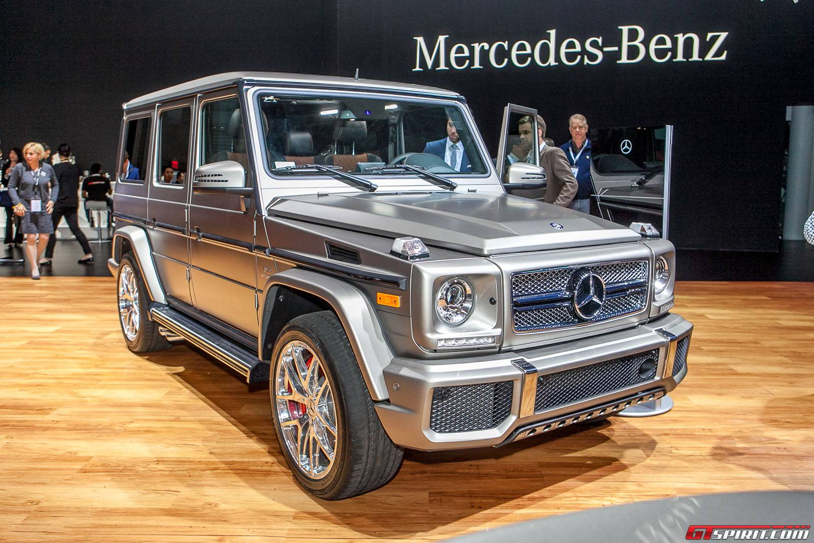 New york 2015 mercedes benz g 65 amg gtspirit for New mercedes benz g wagon