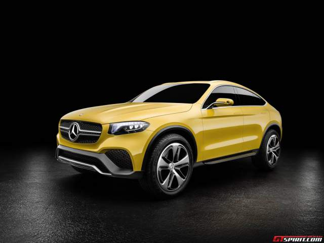 Mercedes-Benz Concept GLE Coupe