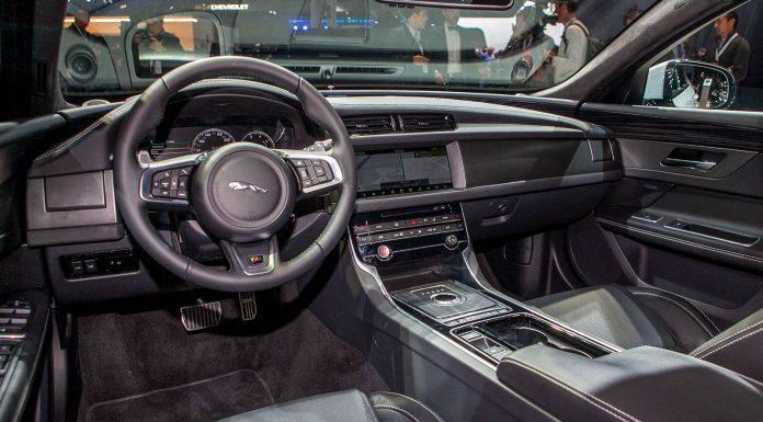 Jaguar XF at New York 2015