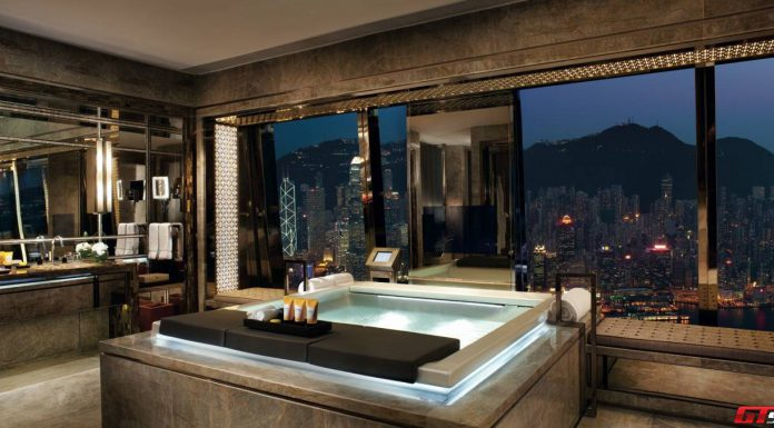 Ritz-Carlton Hong Kong Suite Bathroom Jacuzzi