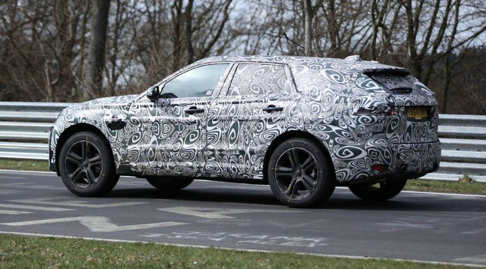 Jaguar F-Pace Spy Shots Emerge at the Nurburgring