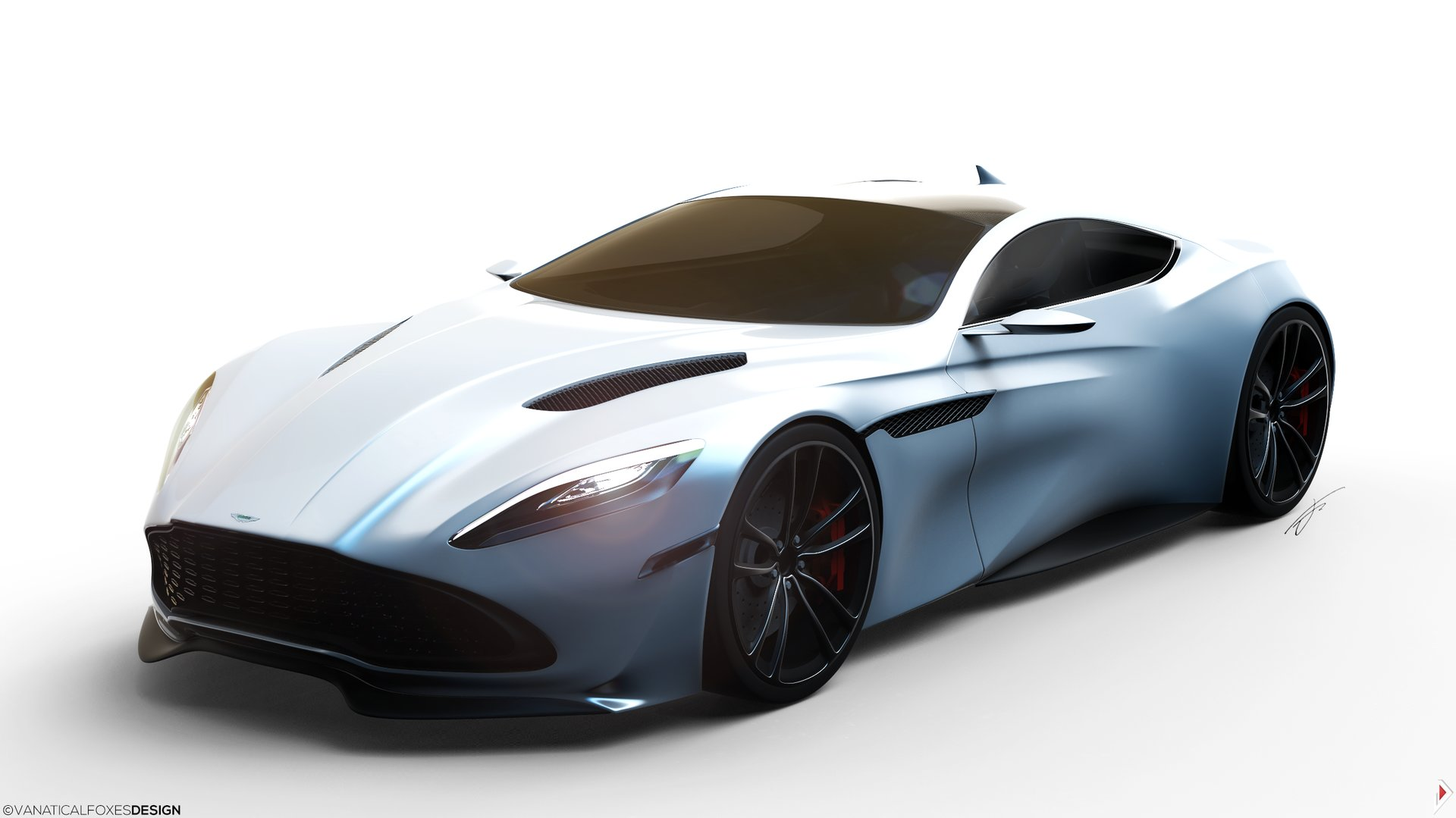 15 Year Old Creates Aston Martin Db11 Concept Design Gtspirit