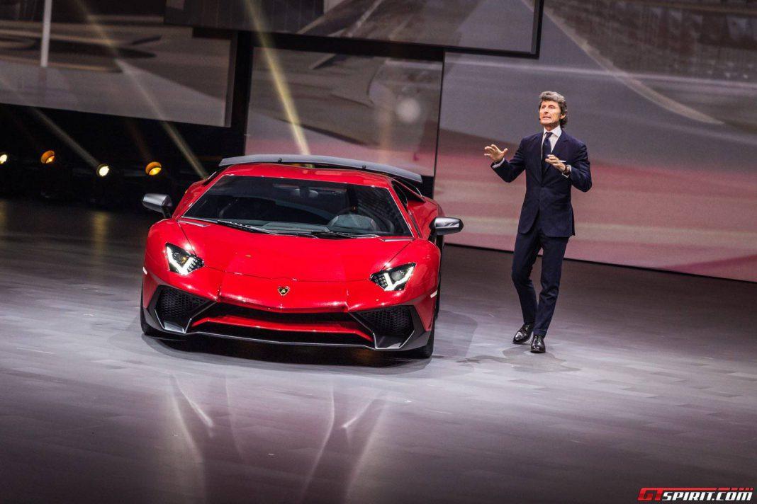 Lamborghini at Volkswagen Group Night Shanghai