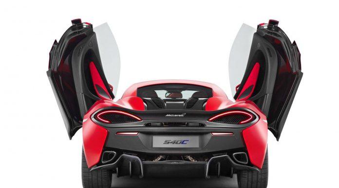 McLaren 540C Coupe Doors