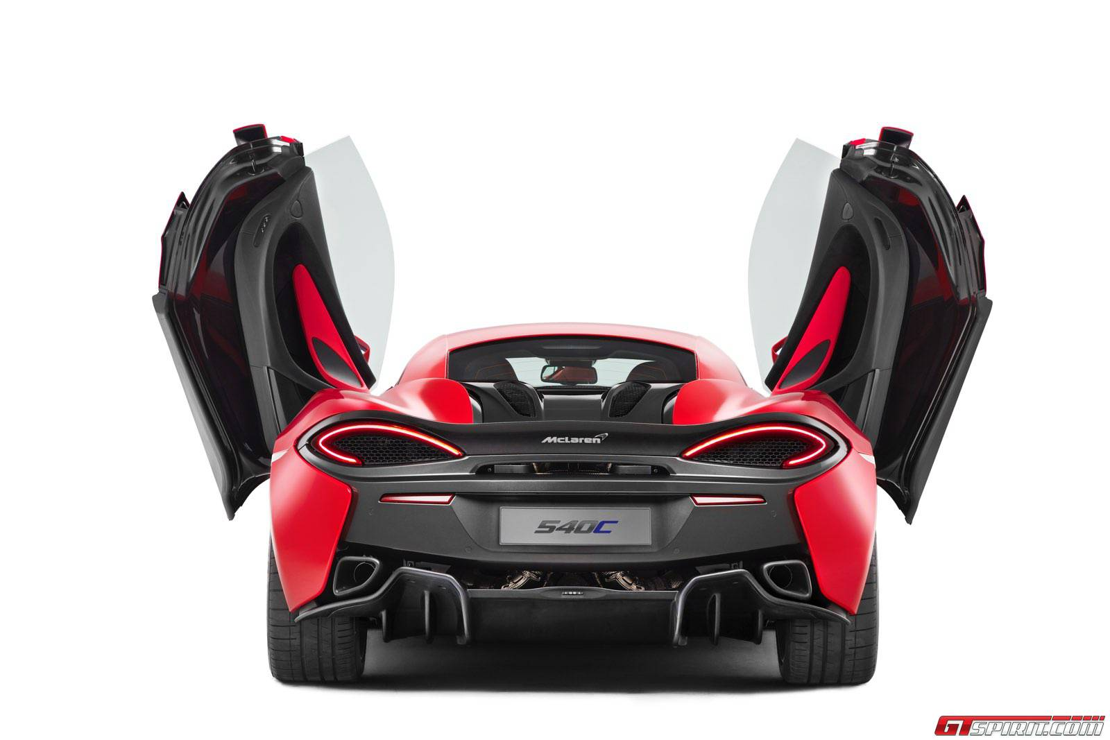 Official: McLaren 540C Coupe