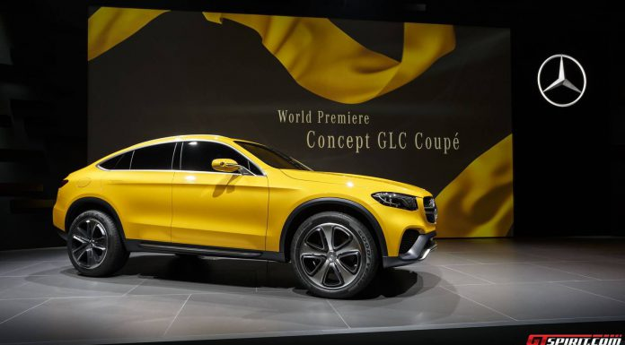Mercedes-Benz Concept GLC Coupe Side