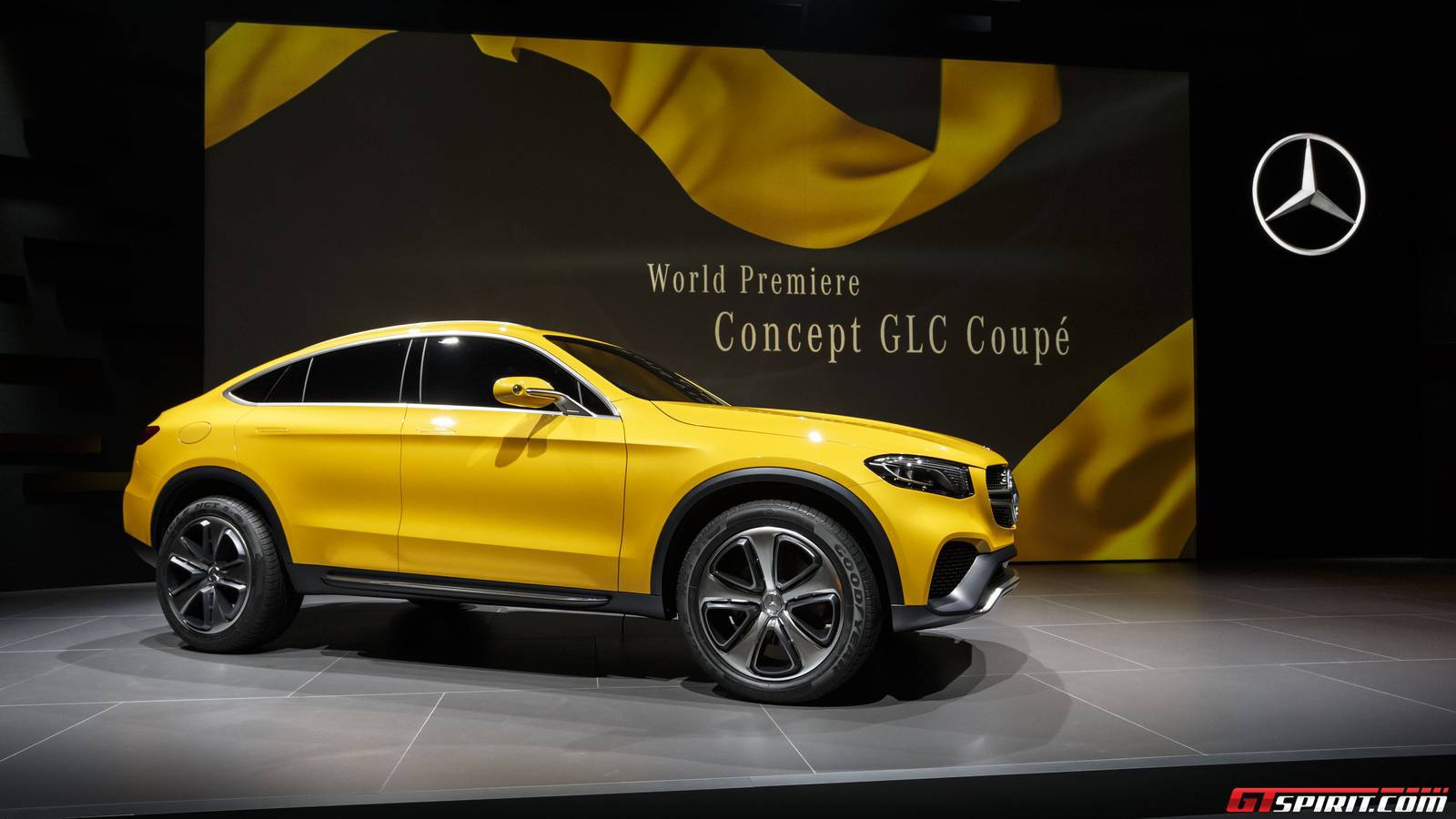 shanghai 2015 mercedes benz concept glc coupe gtspirit. Black Bedroom Furniture Sets. Home Design Ideas
