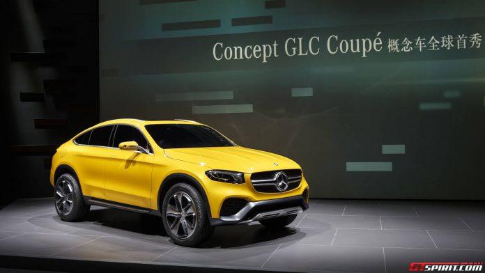 Mercedes-Benz Concept GLC Coupe Front